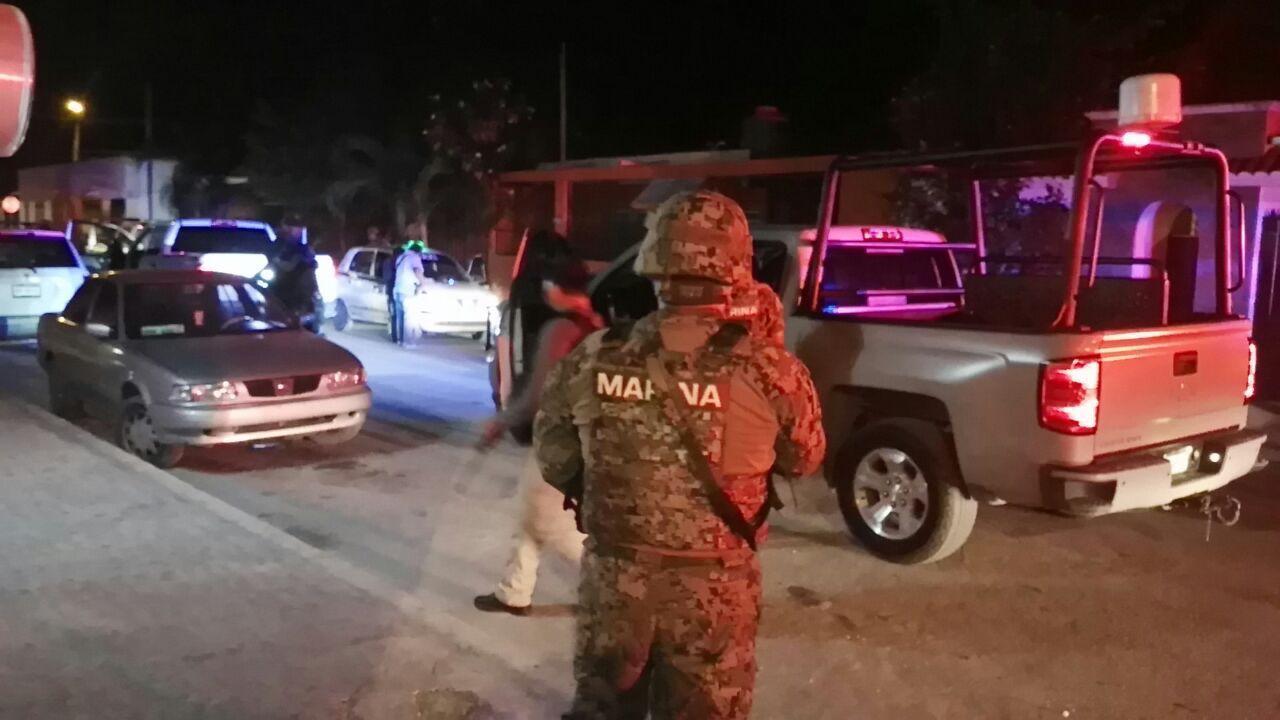 Ejecutados en Cancún enfrente de operativo federal