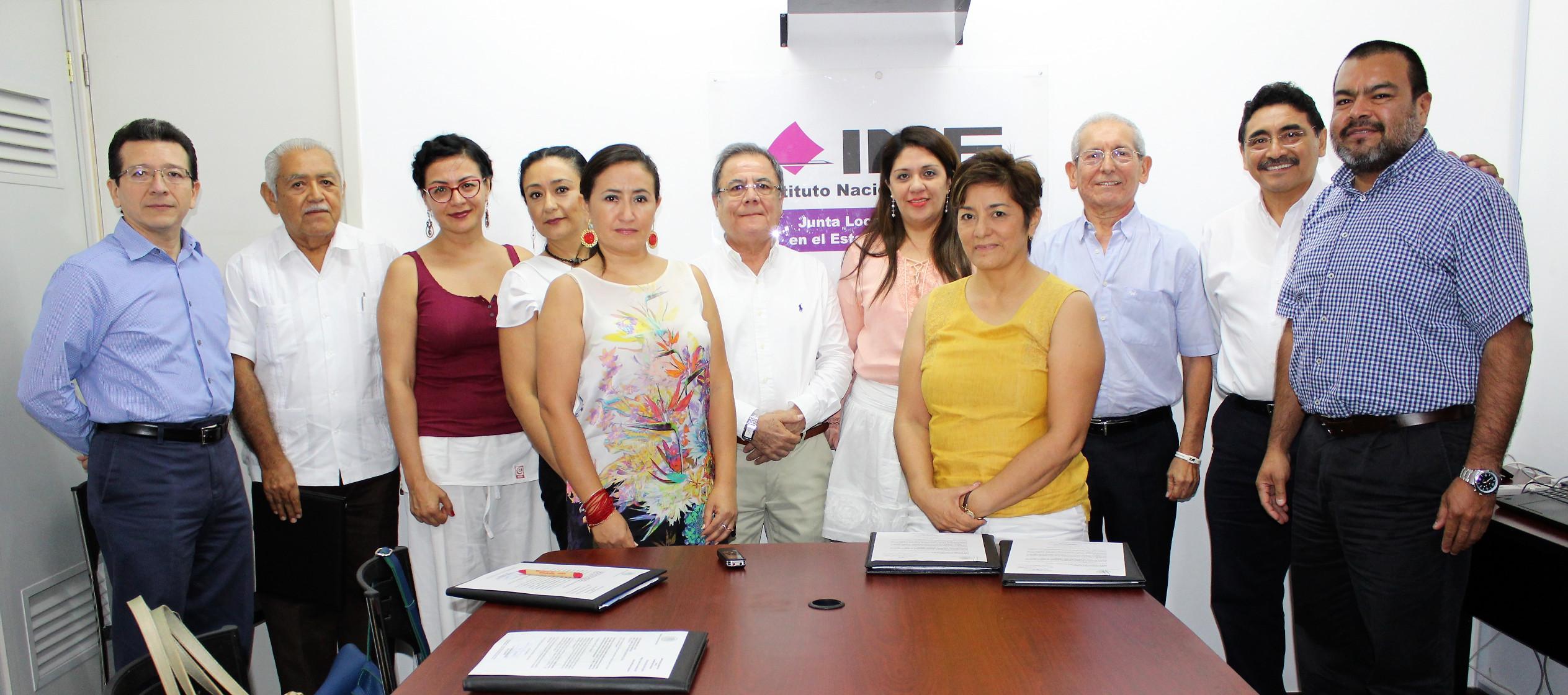Notifican nombramientos a nuevos consejeros de INE Yucatán
