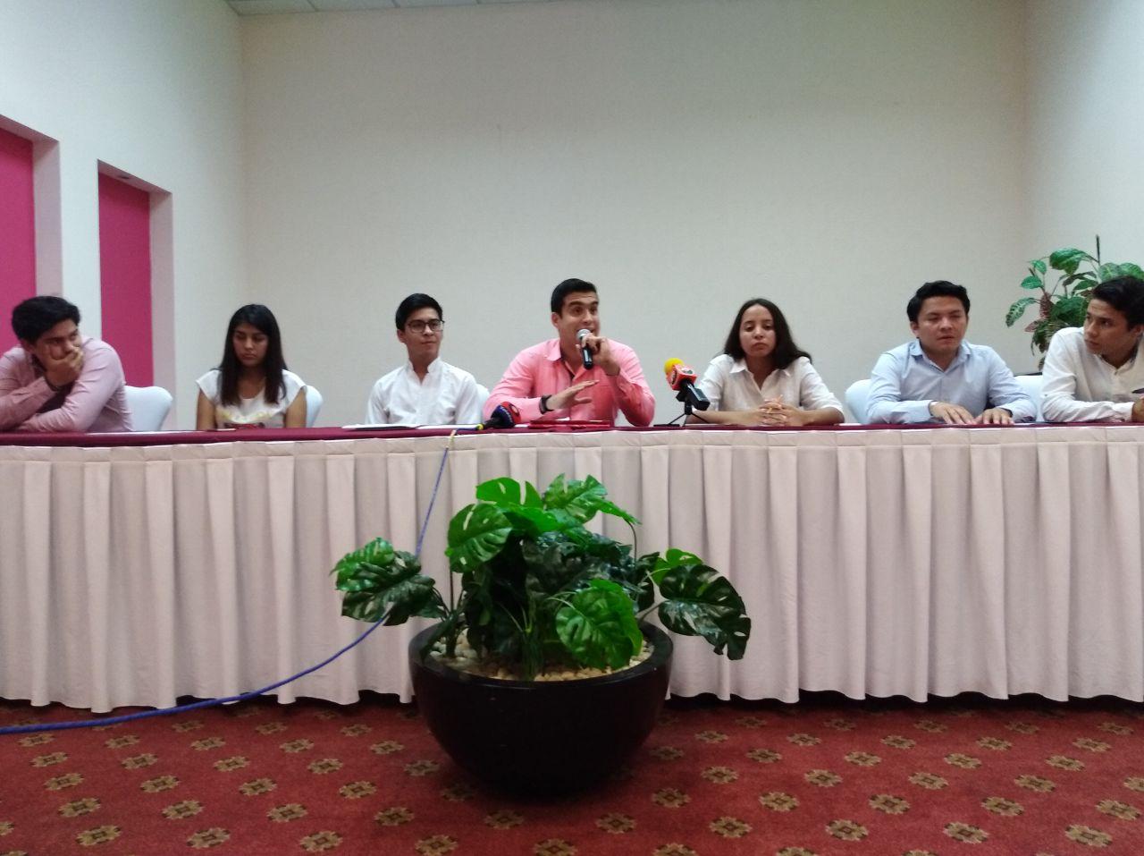 Niega líder estudiantil tintes electorales en conflicto
