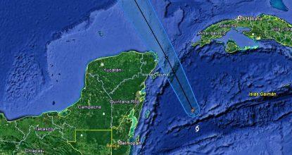 Pronostico trayectoria Nate mar Caribe 2017