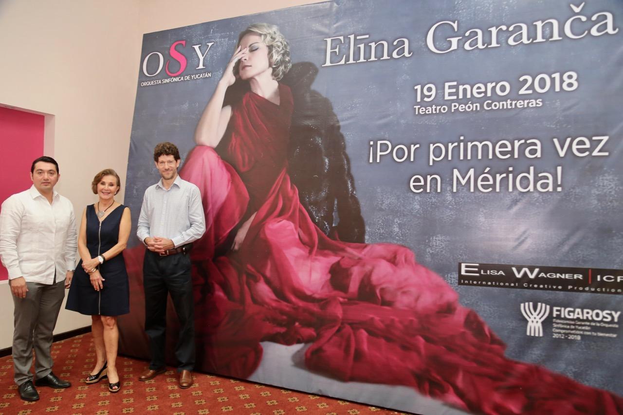 Vienea Mérida Elina Garanca, estrella operística en el mundo