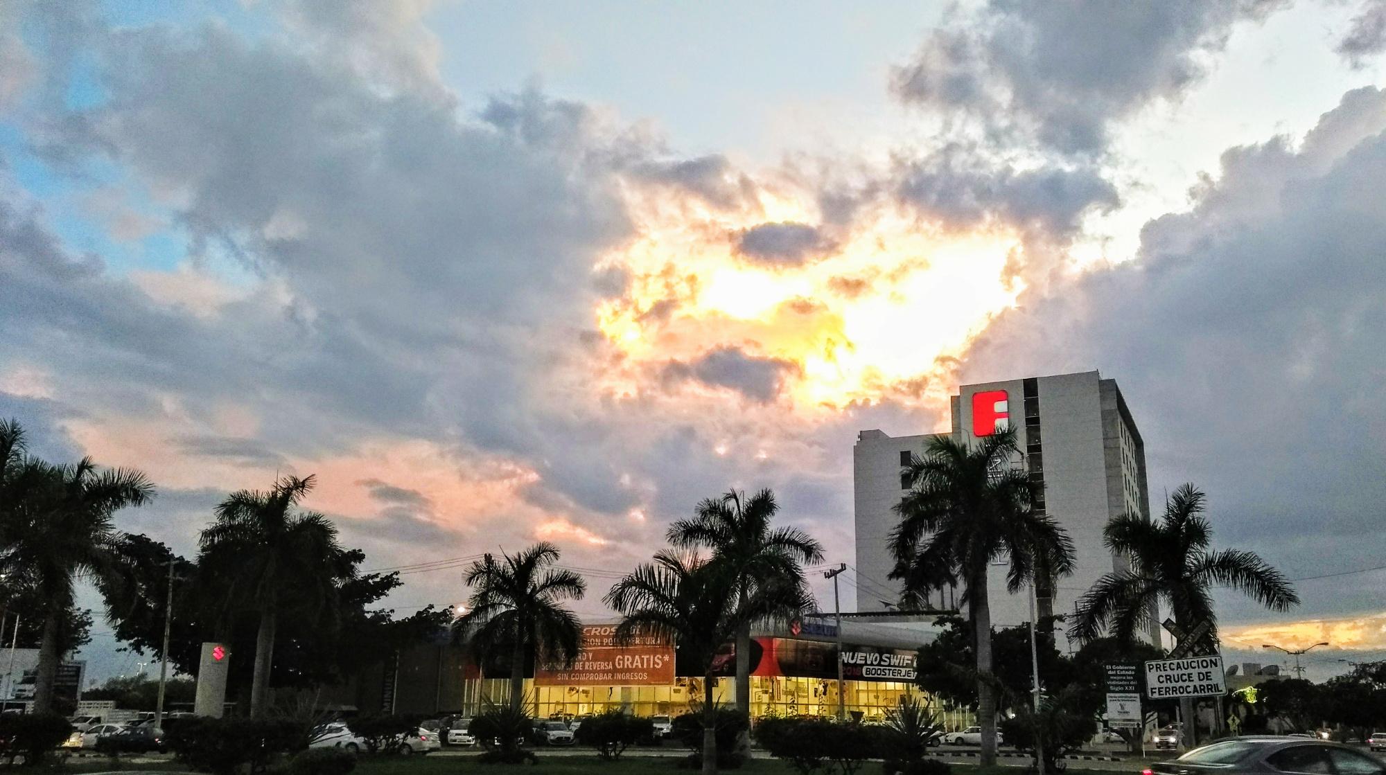 Inicia la semana con lluvias en Yucatán