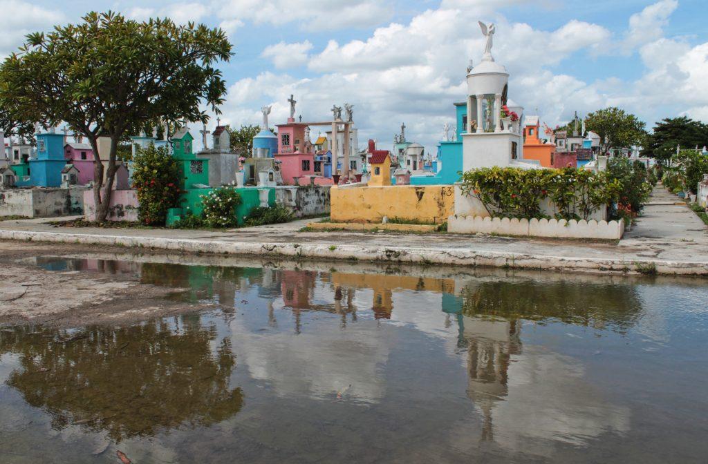 Cementerio Xoclán, el más grande de Mérida