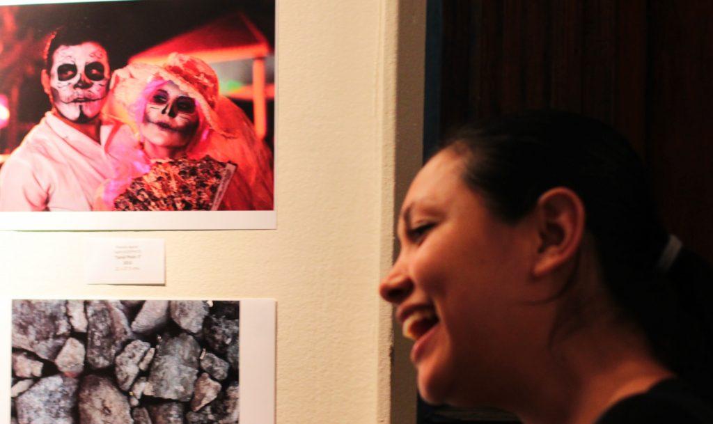 Muestra de arte por día de muertos