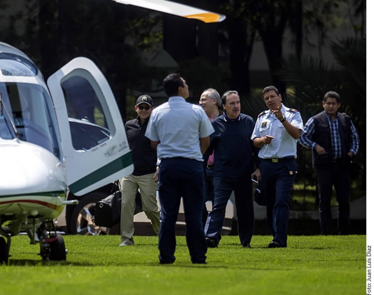 Gamboa, del Campo Marte al golf en helicóptero de Fuerza Aérea