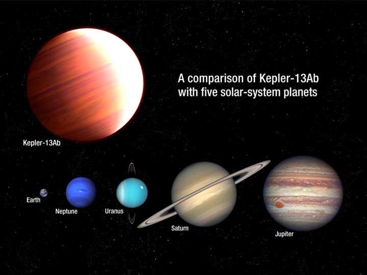 Telescopio Hubble descubre exoplaneta que 'nieva protector solar'