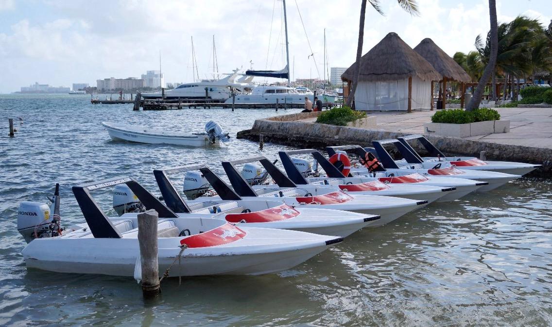 Lluvias afectan servicios náuticos en Cancún