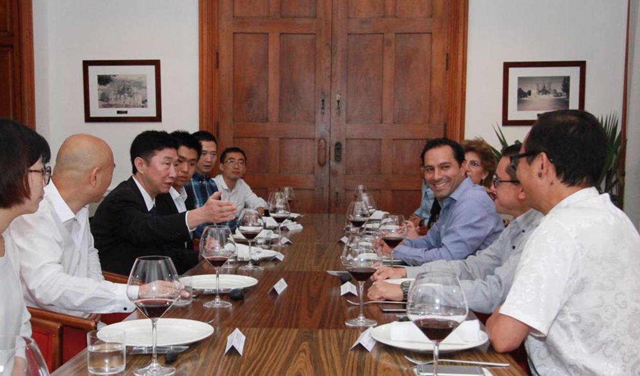Crece interés del gobierno chino por Mérida
