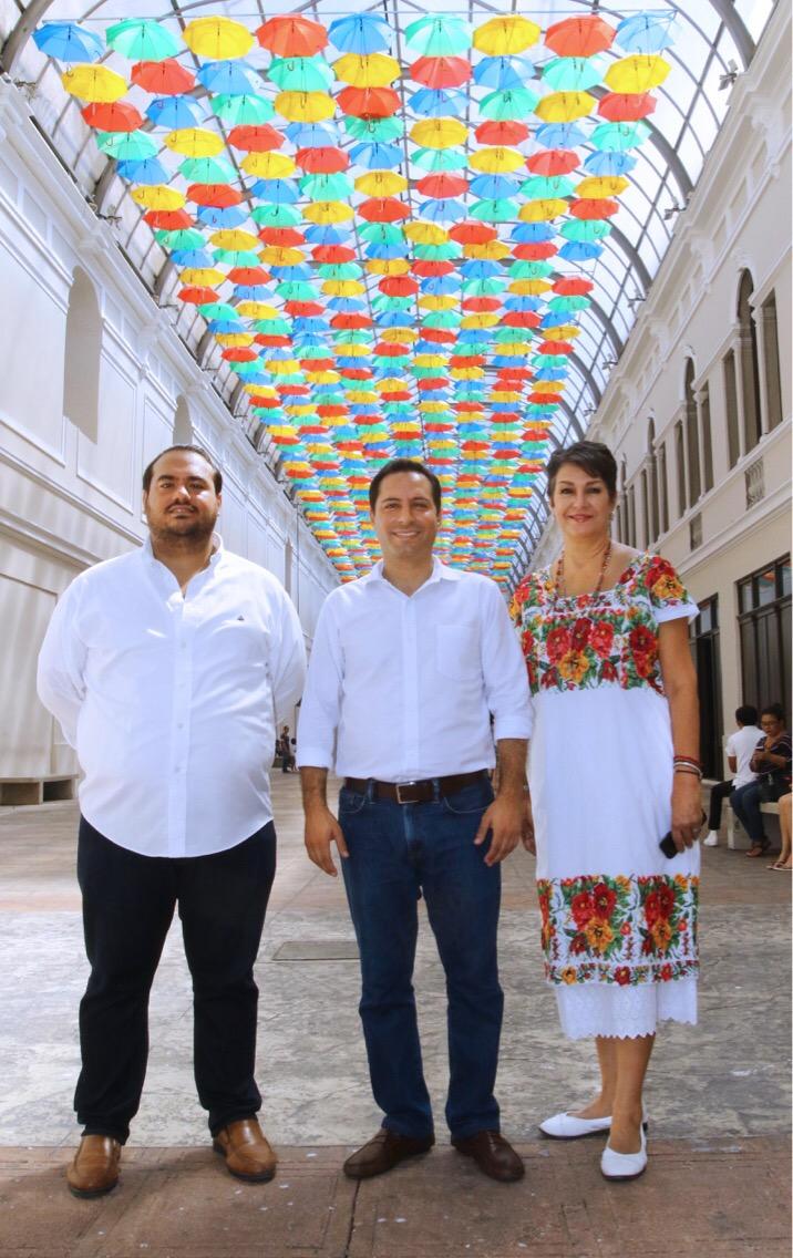 'Paseo de las Sombrillas', nuevo atractivo en centro de Mérida