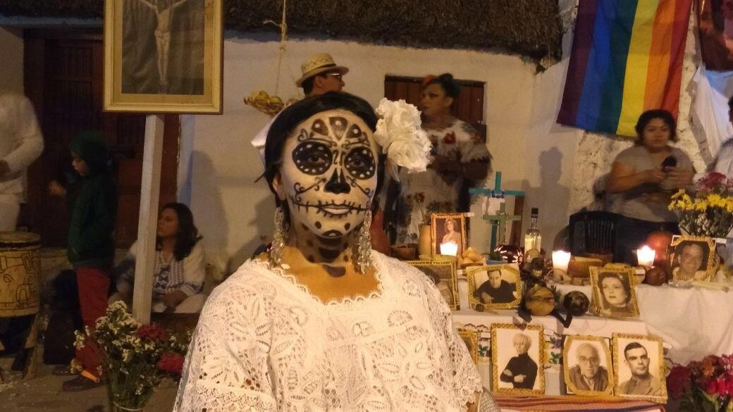 Las Ánimas salen a paseo en Centro Histórico de Mérida