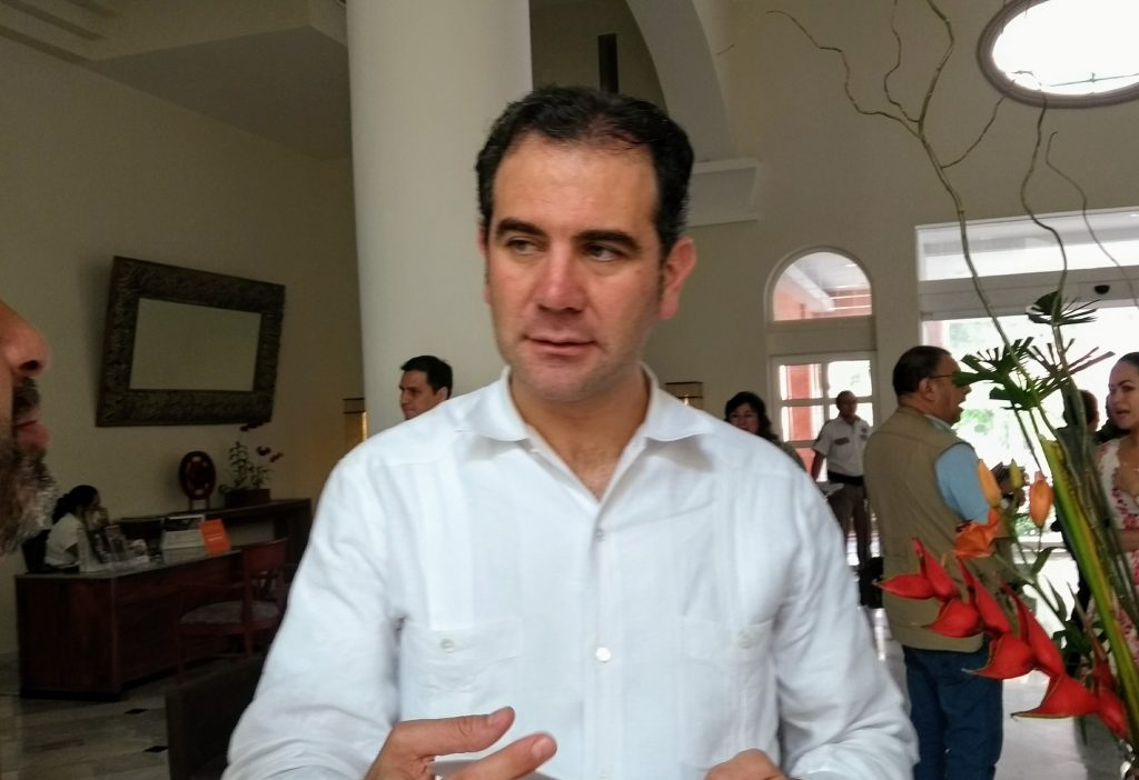 lorenzo cordova vianello, presidente INE