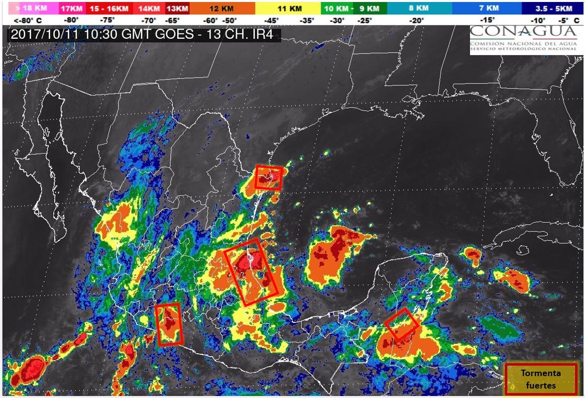 Baja probabilidad de lluvia y sube el calor (video)