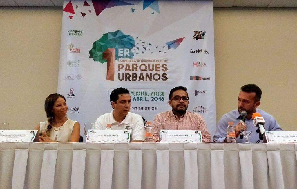 Este jueves se anunció la realización del I Congreso Internacional del Parques, en abril de 2018, en Mérida.