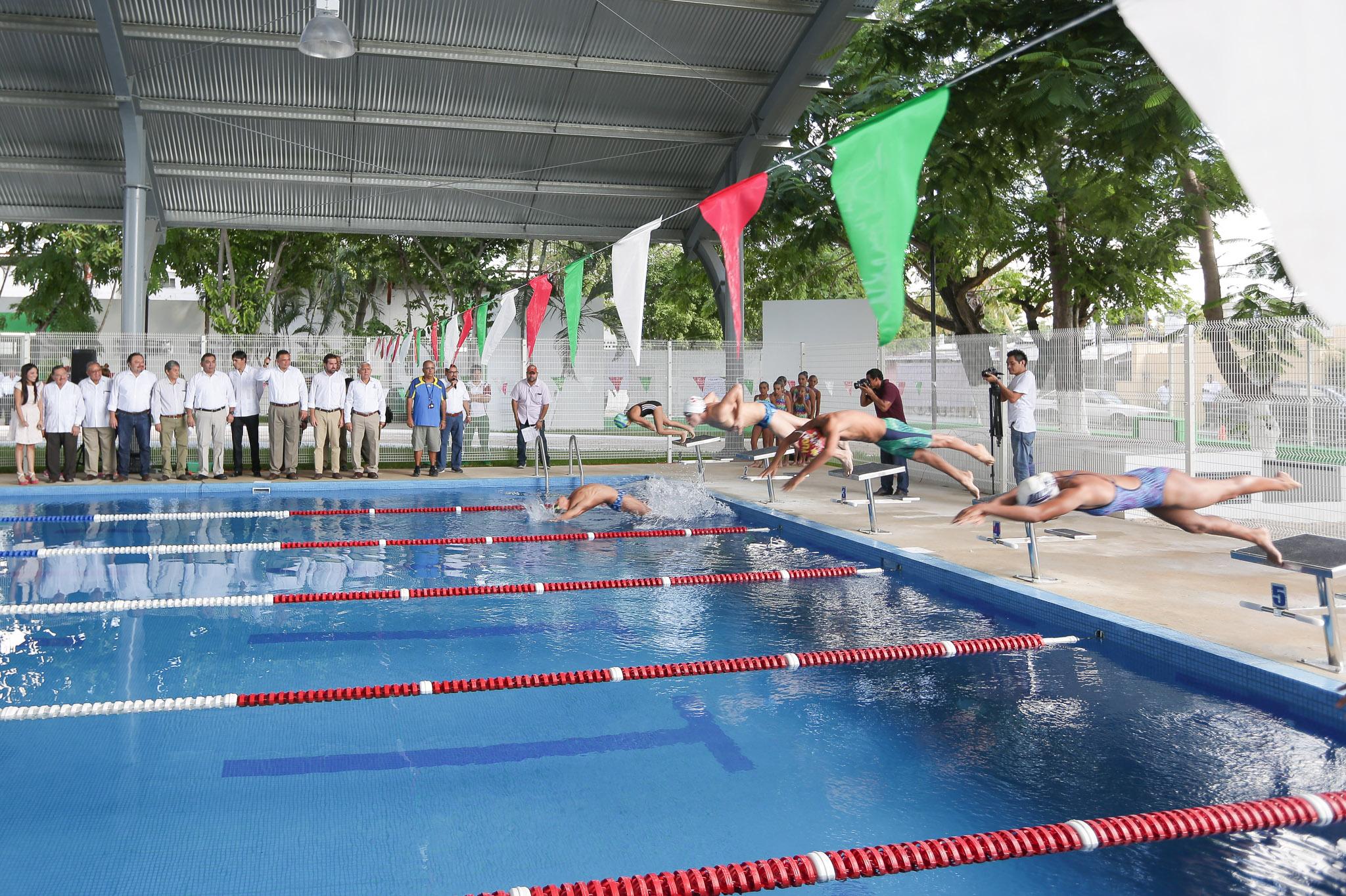 Moderno complejo deportivo, para el sur de Mérida