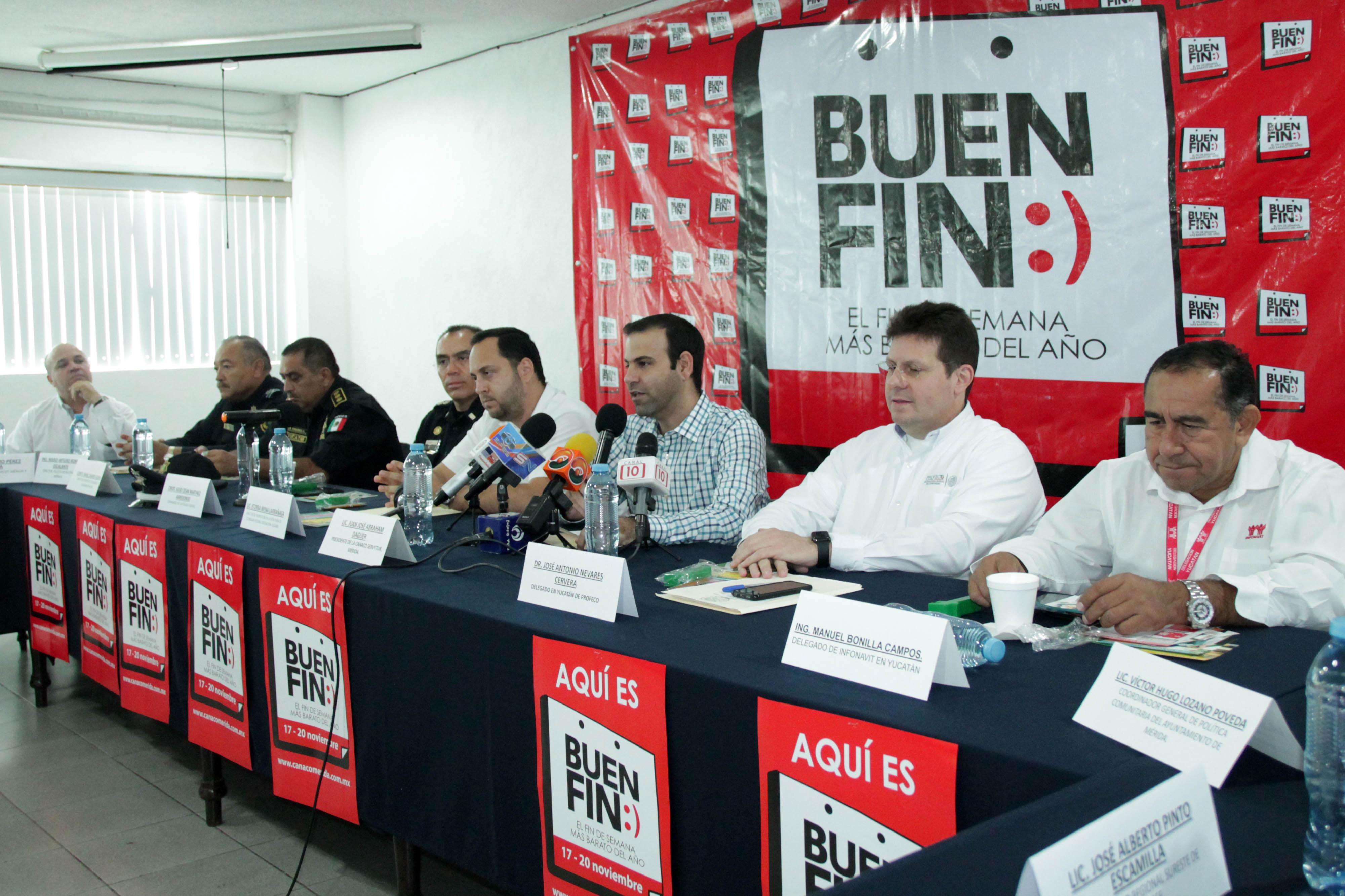 Presentan en Yucatán operativo de seguridad por El Buen Fin