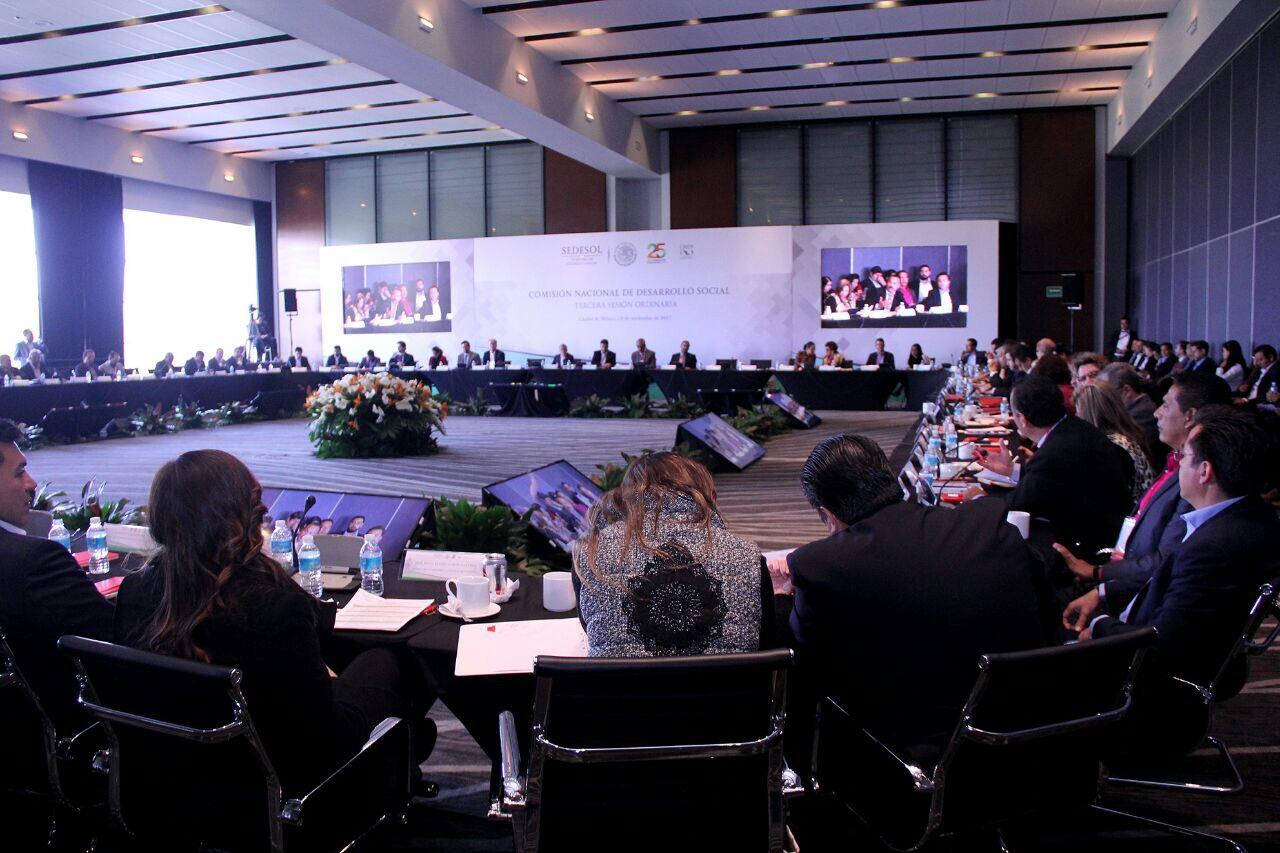 Yucatán presente en la Comisión Nacional de Desarrollo Social