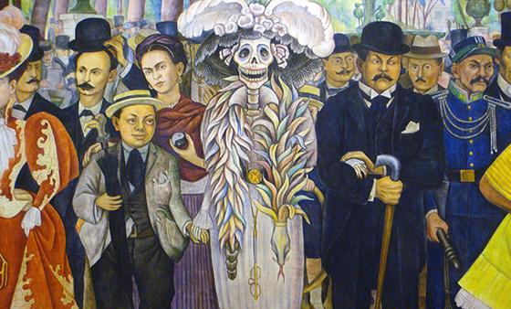 """""""La Catrina"""", fruto de la genialidad de Posadas y Rivera"""