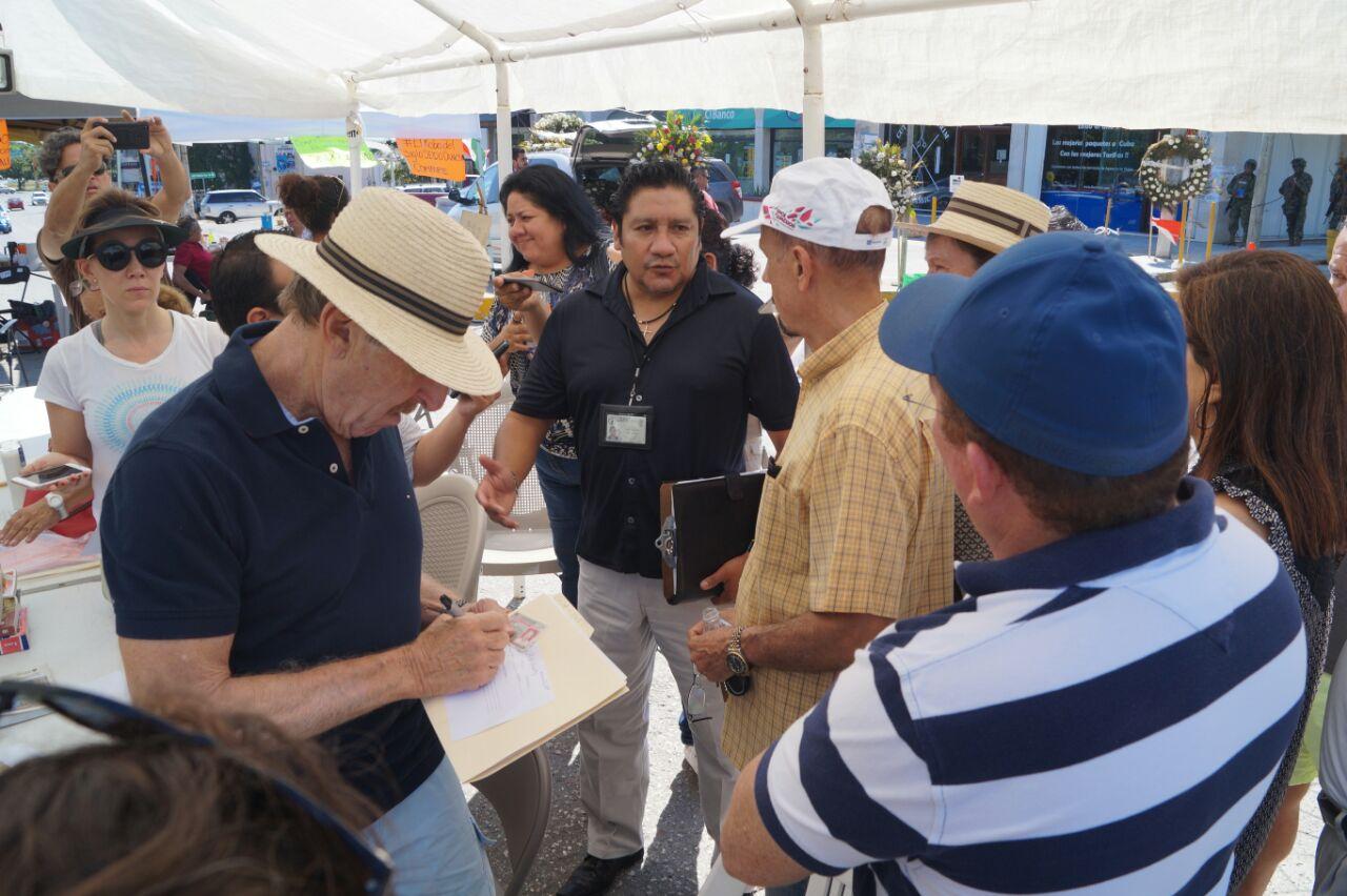 Persiste molestia de afectados por cajas de seguridad en Cancún