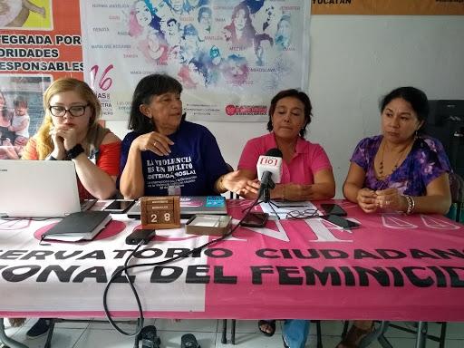 Reportan amenazas, defensoras de derechos humanos de Yucatán