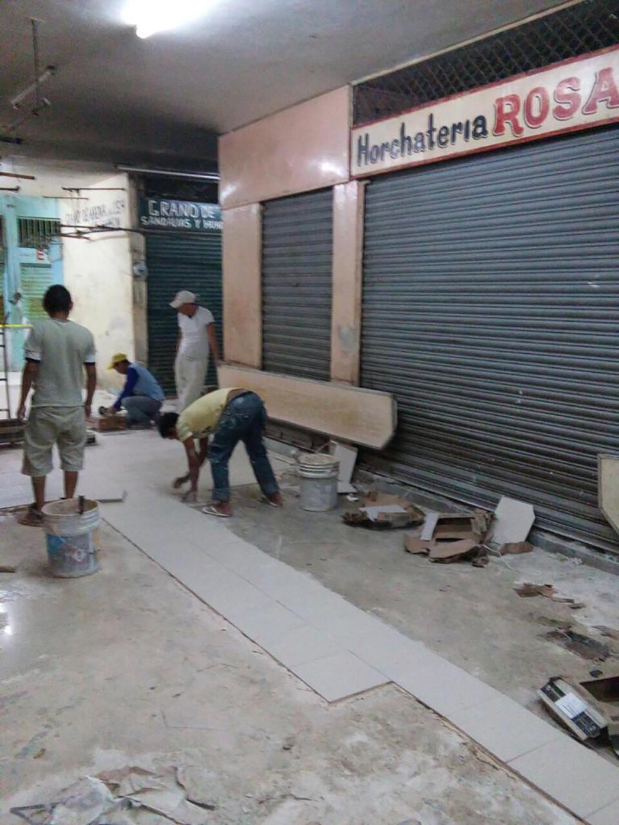 Arrancan mejoras en mercado Lucas de Gálvez