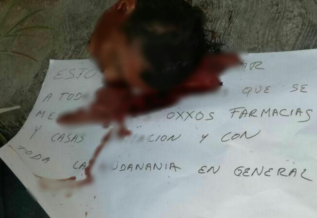 'Salvaje' mensaje entre delincuentes en Cancún