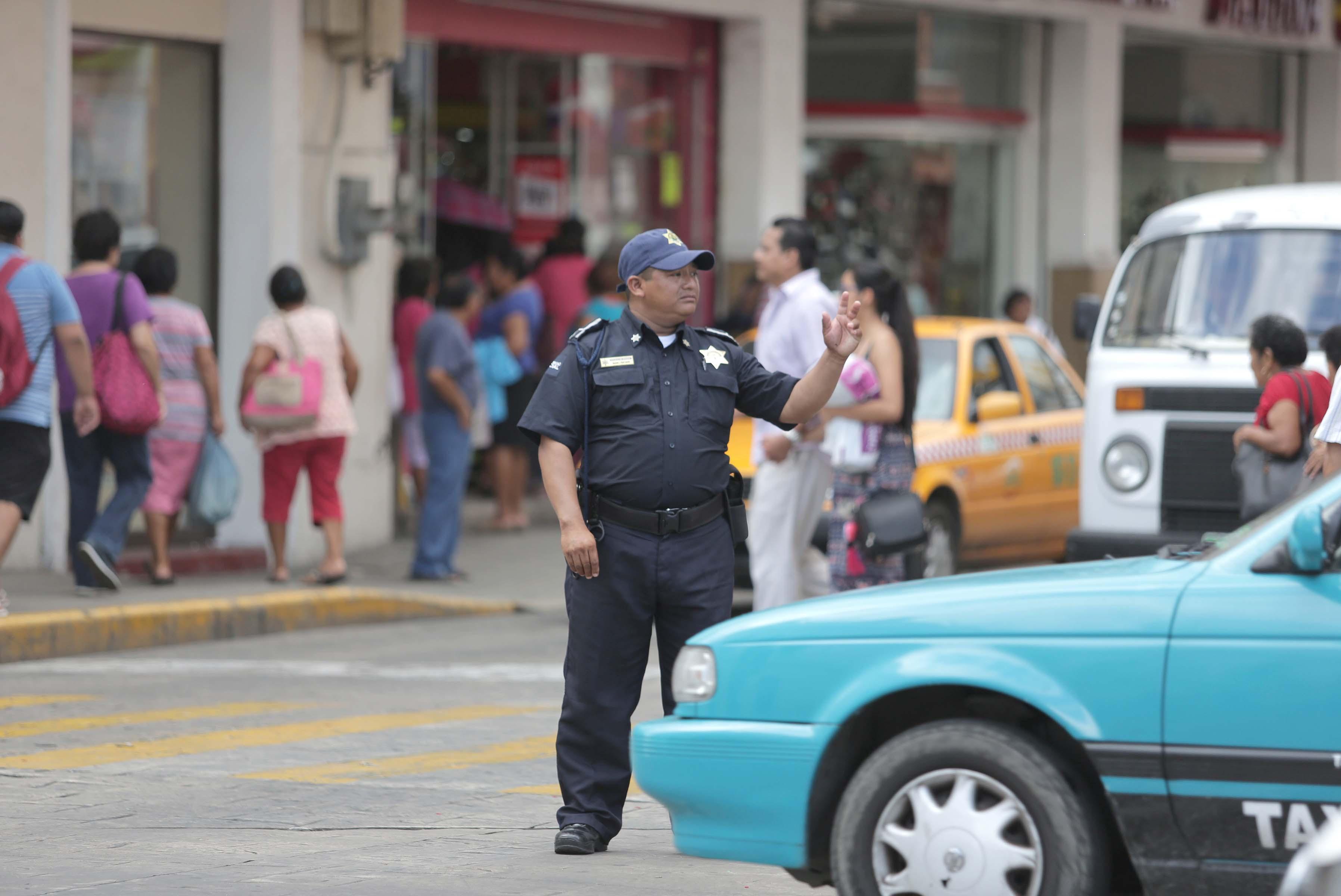 """Policía Municipal redoblará vigilancia en Centro Histórico por """"Buen Fin"""""""