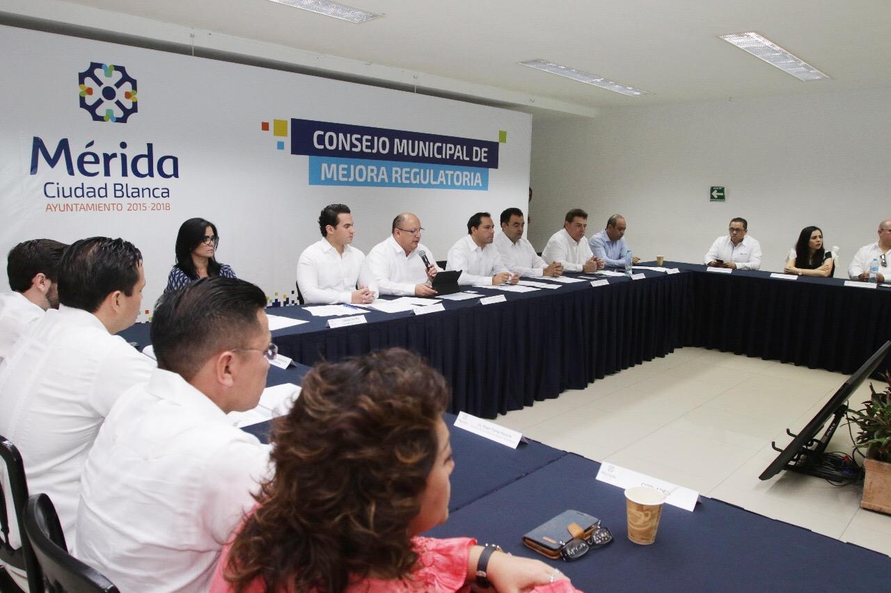 Alcanza Mérida 80% de meta para agilizar trámites municipales