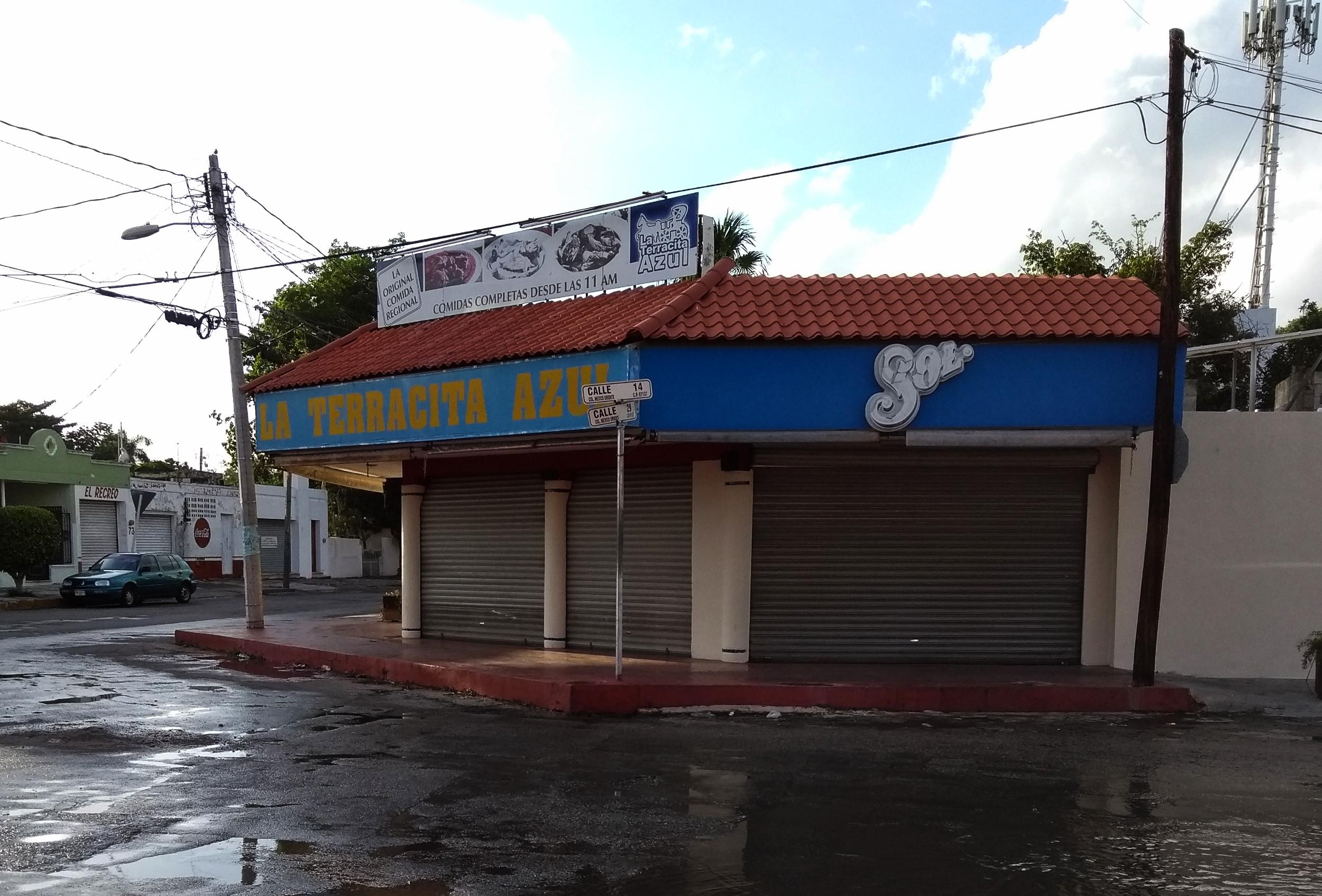 Cierra restaurante tradicional de comida yucateca: La Terracita Azul (video)