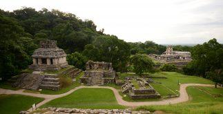 Zona arqueoloìgica de Palenque, Chiapas. Foto Mauricio Marat INAH