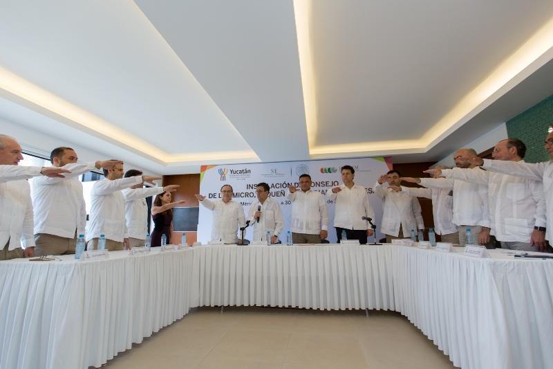 Instalan en Yucatán Consejo Estatal para Competitividad de Mipymes