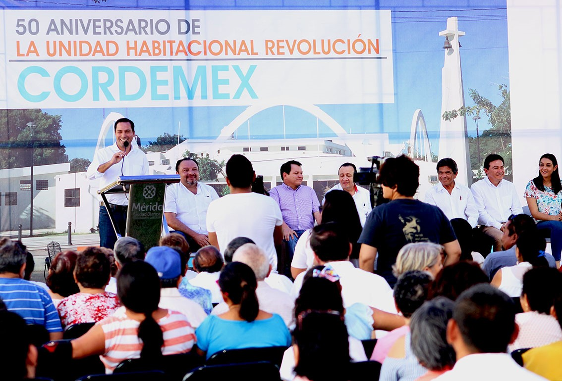 Con nuevo patrimonio urbano, Unidad Habitacional Cordemex llega a 50 años