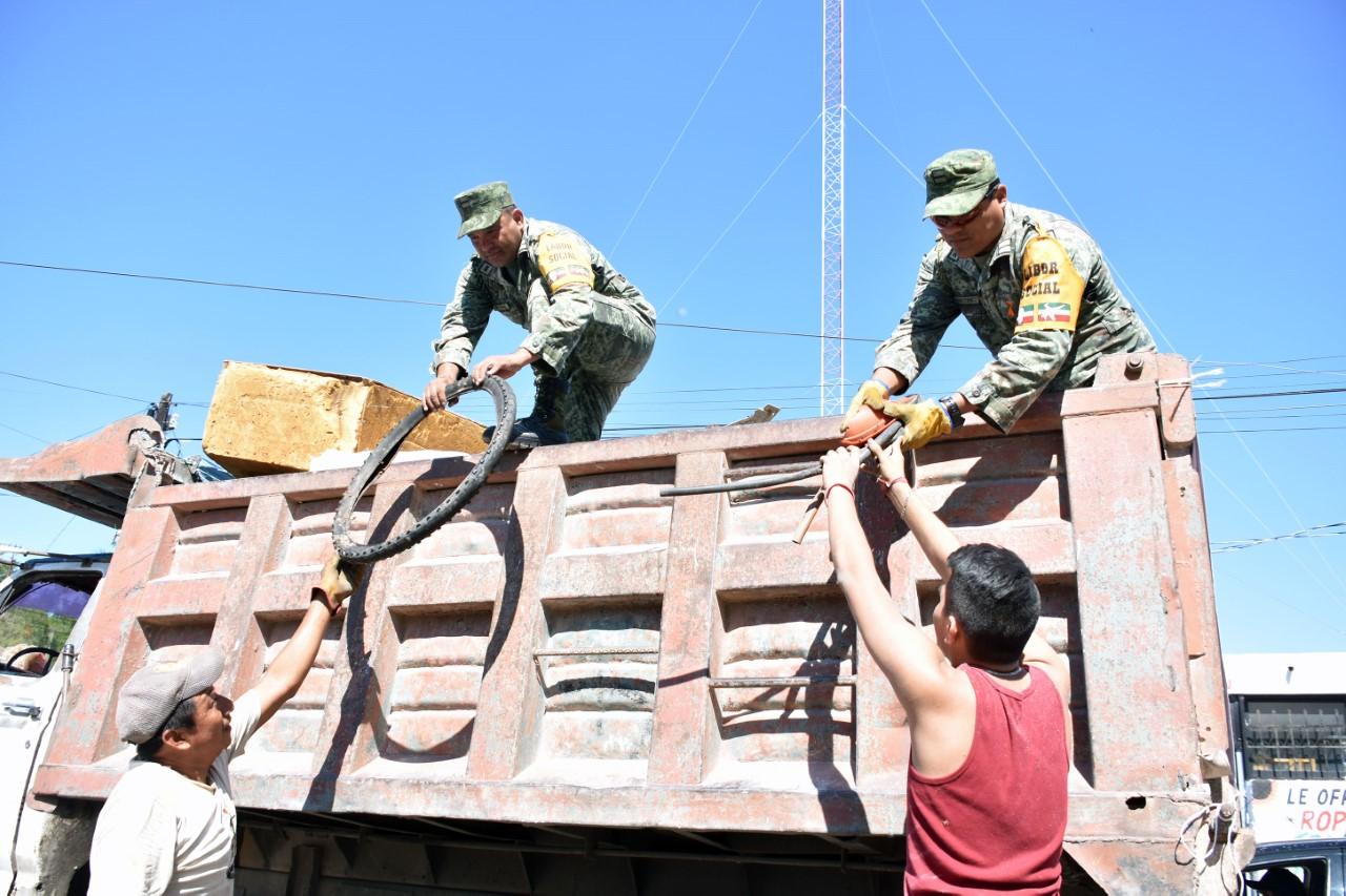Tercera campaña de descacharrización masiva en Mérida