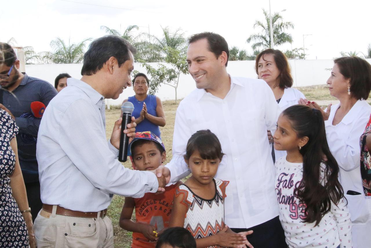 Cancha de usos múltiples para jóvenes en sur de Mérida
