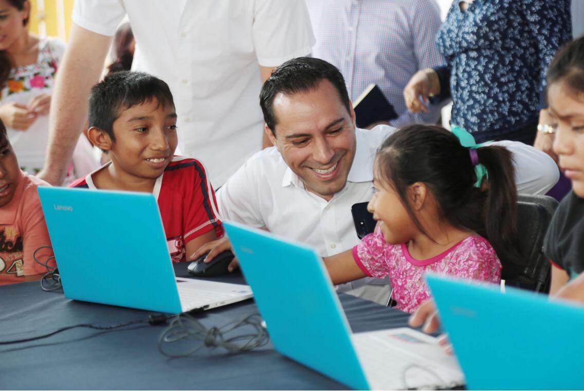 Incorpora Mérida 95 nuevos parques con internet gratis