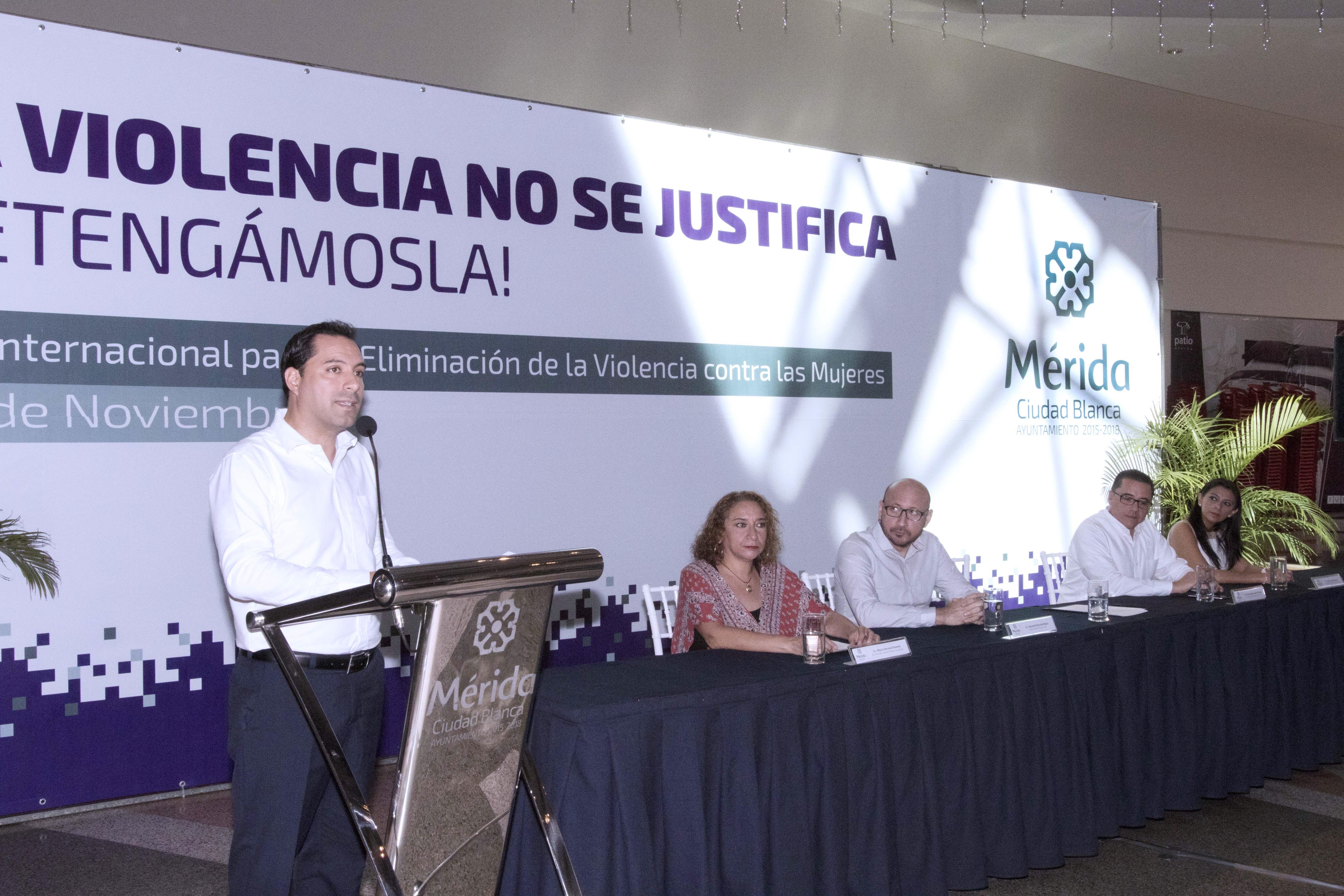 """Arranque de campaña """"La Violencia No Se Justifica ¡Detengámosla!"""""""