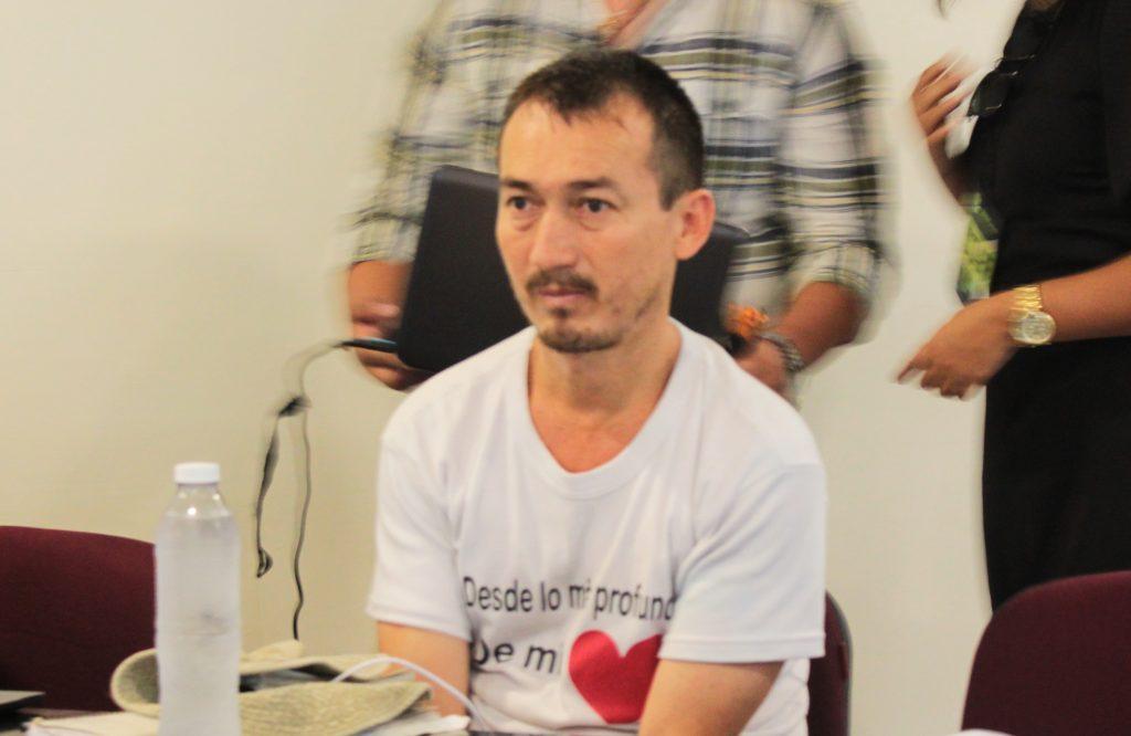 Mario Vergara, víctima de desapariciones forzadas