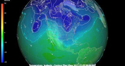 masa aire polar artico llegada yucatan imagen tomada de meteorología yucatan (2)