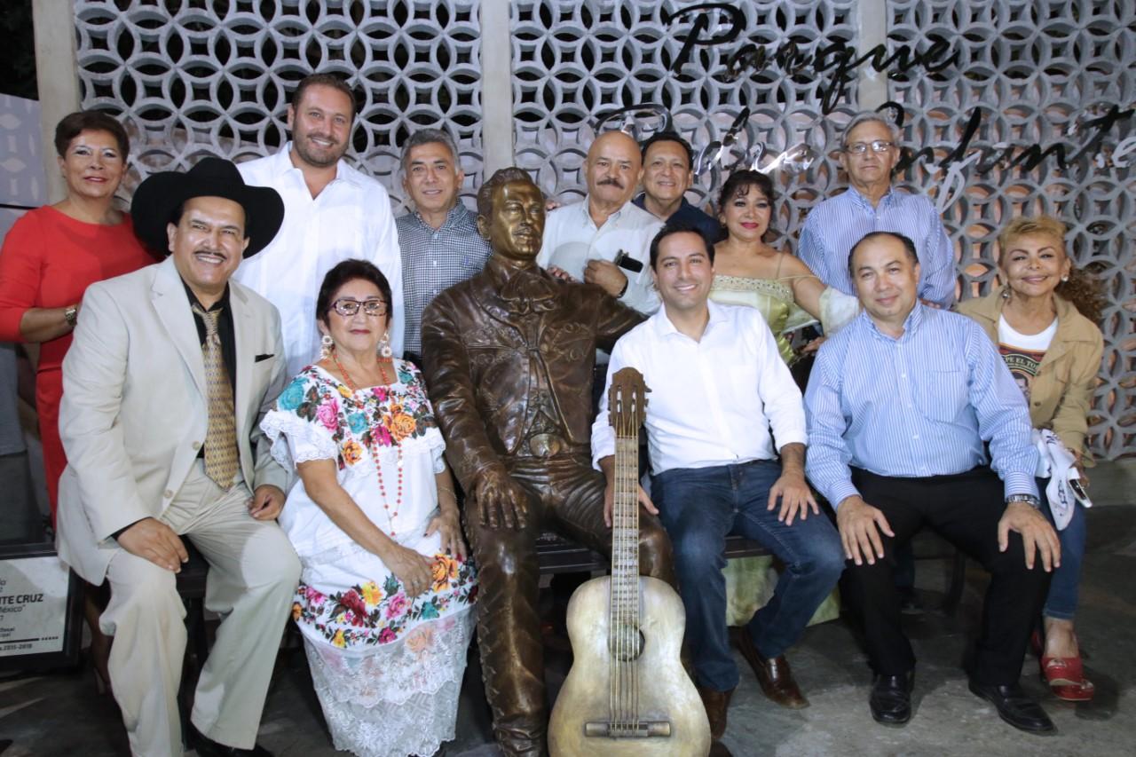 Cumple Mérida a Pedro Infante: inaugura parque con su nombre