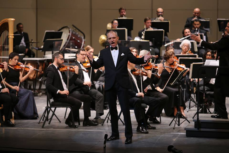 Seduce tenor Ralf Zurakowski a Mérida con canciones napolitanas