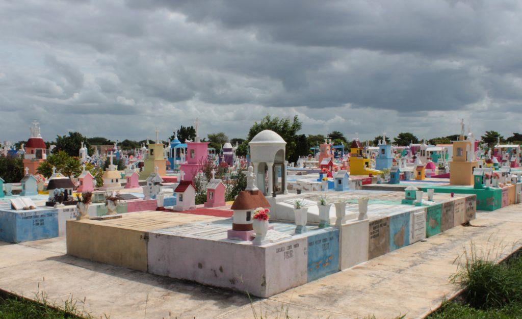 Cementerio Xoclán, la zona más nueva