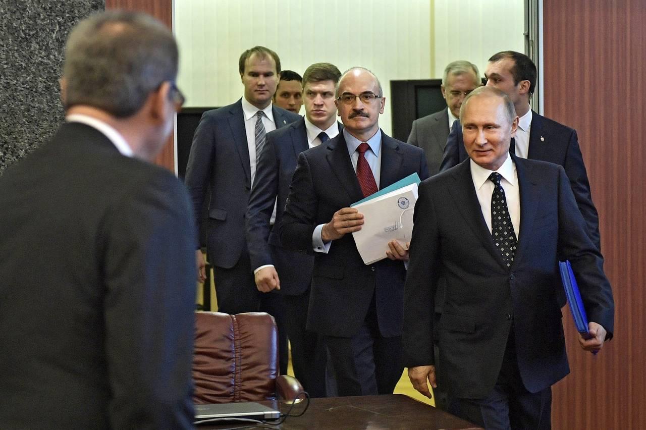 Putin registra candidatura para su reelección de 2018