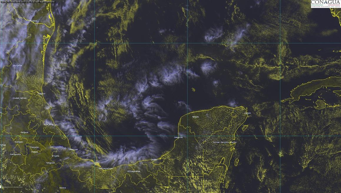 Navidad con hasta 33 grados en Península de Yucatán
