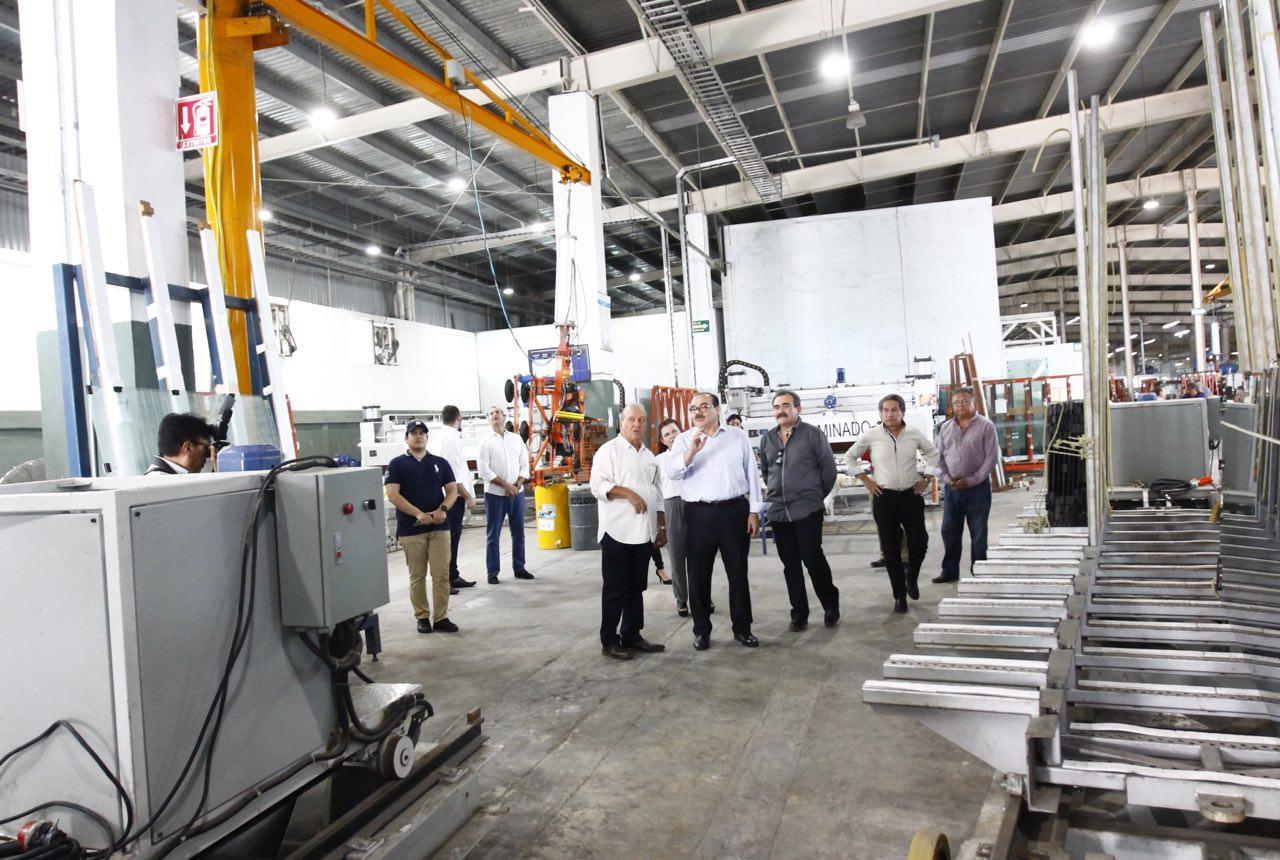 Ramírez Marín destaca fortaleza empresarial de Yucatán