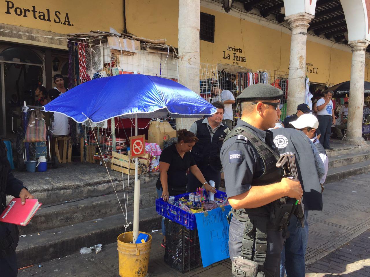 Rastrean pólvora en Mérida: confiscan 1.7 toneladas