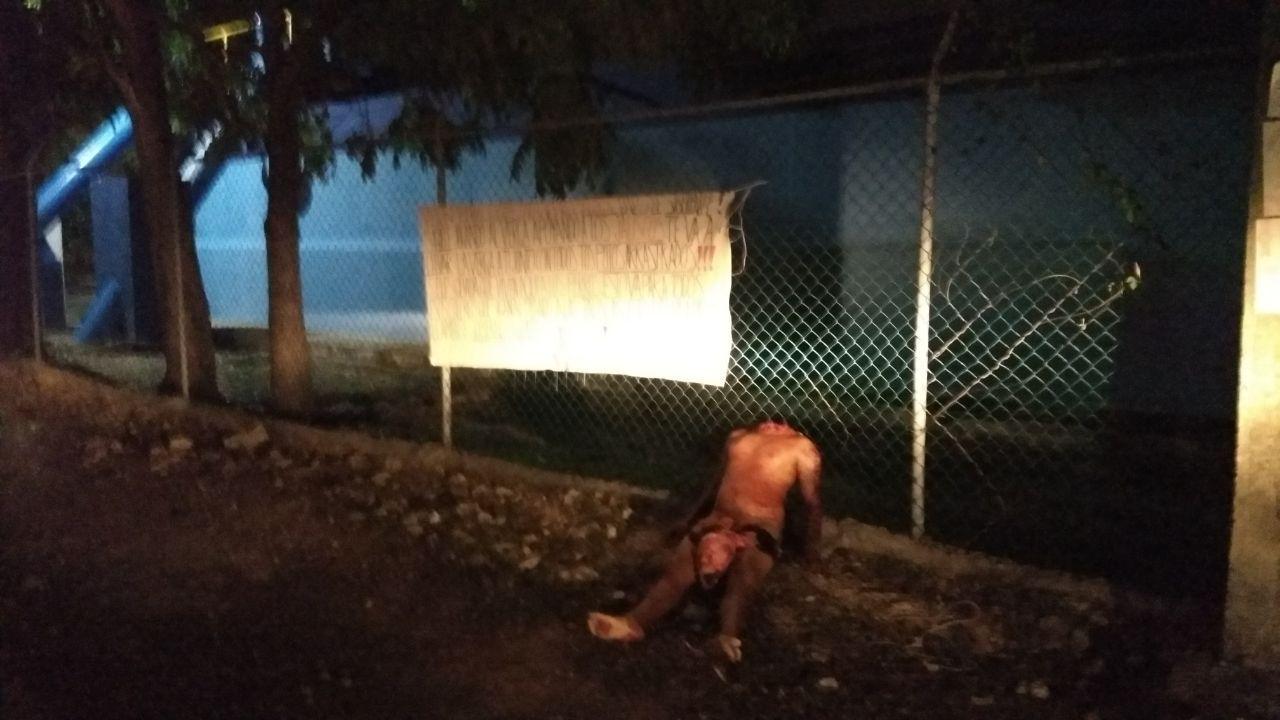 Brutal mensaje de criminales en Cancún