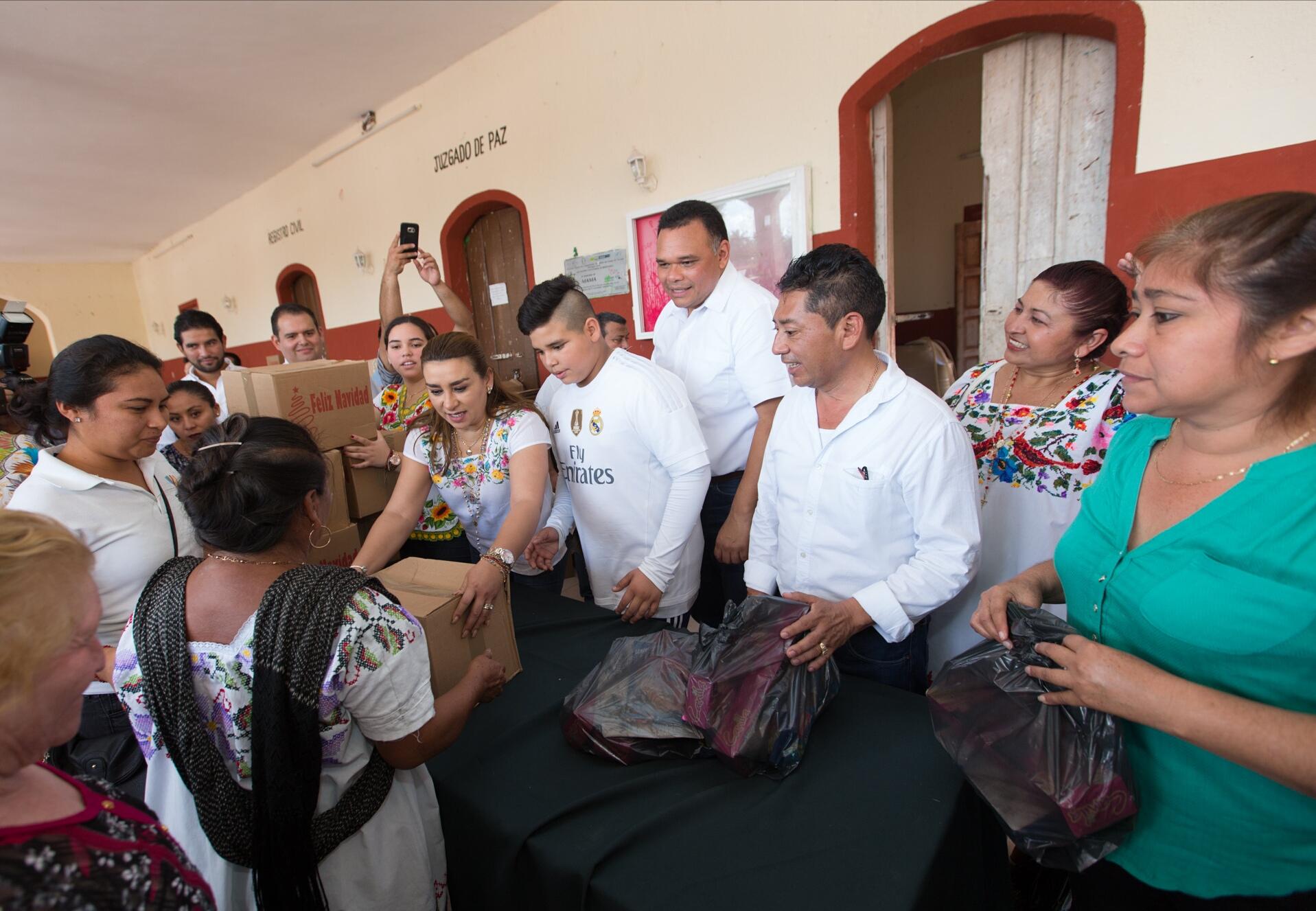 """Zapata Bello lleva obras y apoyos como """"regalos"""" de Navidad"""