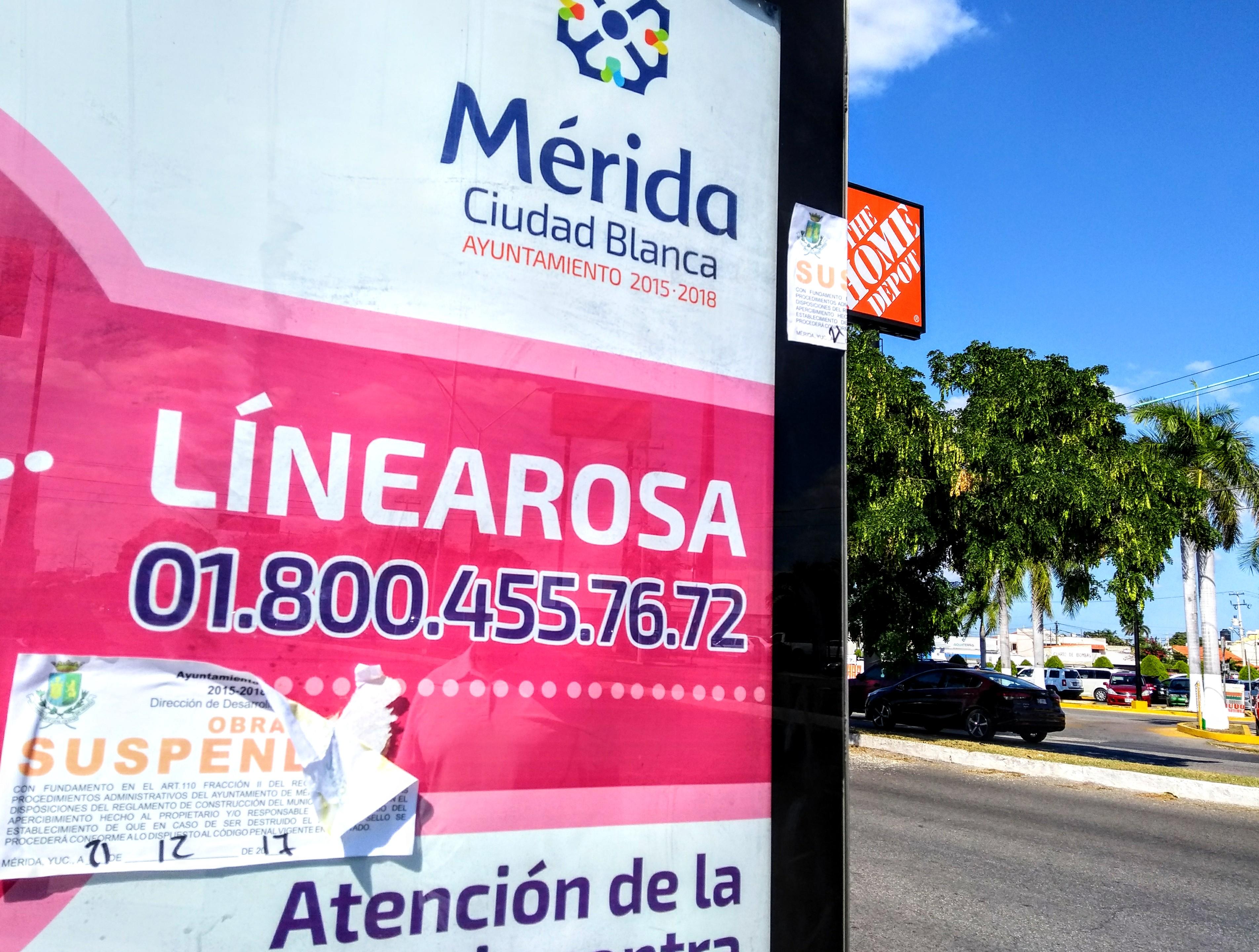 Clausuran más de 300 paraderos de autobuses en Mérida
