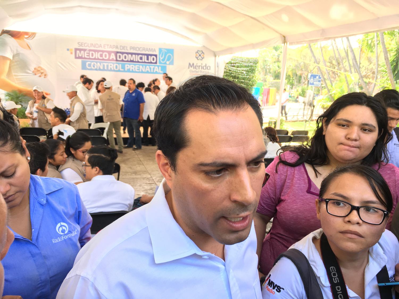 Vila Dosal concede vida a Frente en Yucatán