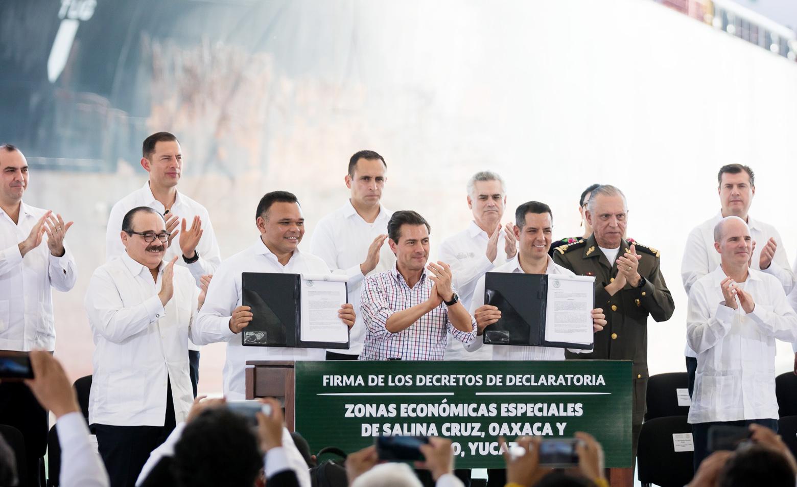 Con declaratoria formal Zona Económica Especial de Yucatán