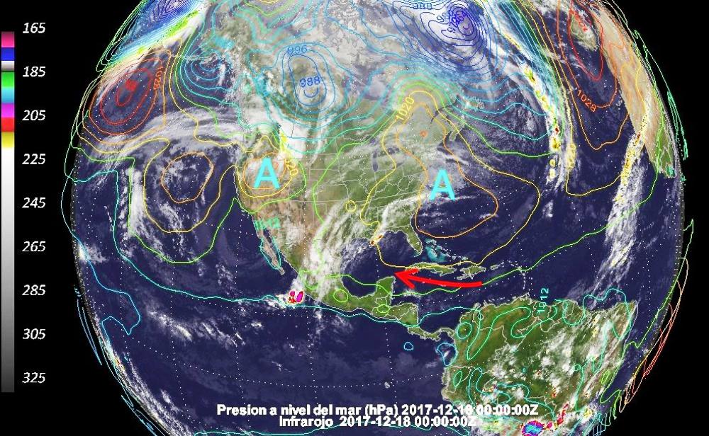 Pronóstico del clima en Yucatán: viene una Navidad calurosa (video)